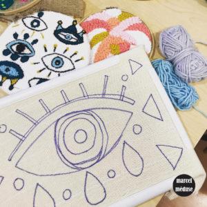 Atelier créatif punch needle adulte