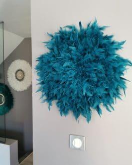 A juju hat coloris bleu canard (diamètre 50 cm)