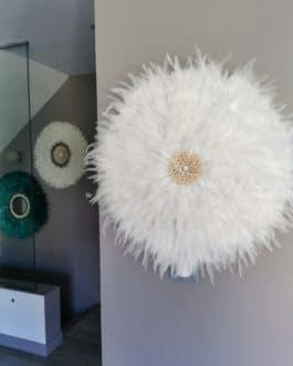 A juju hat XXL coloris blanc pur (diamètre 70 cm)